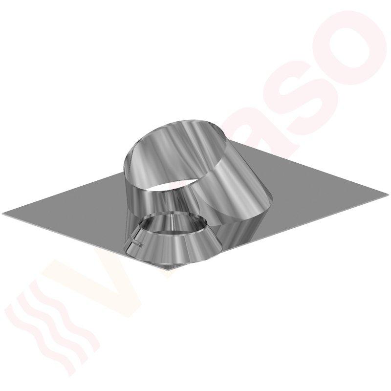 almeva abgassystem dachpfanne 0 5 dn 60 100 edelstahl. Black Bedroom Furniture Sets. Home Design Ideas