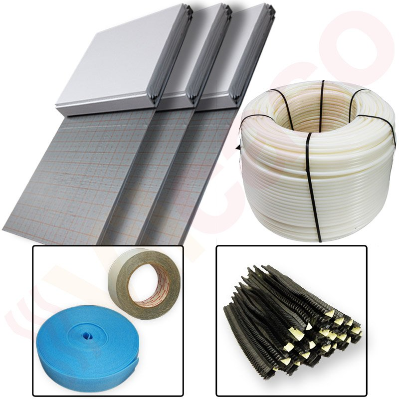 grundpaket 120 fu bodenheizung tackersystem rolld mmung rohr bis 120 m. Black Bedroom Furniture Sets. Home Design Ideas