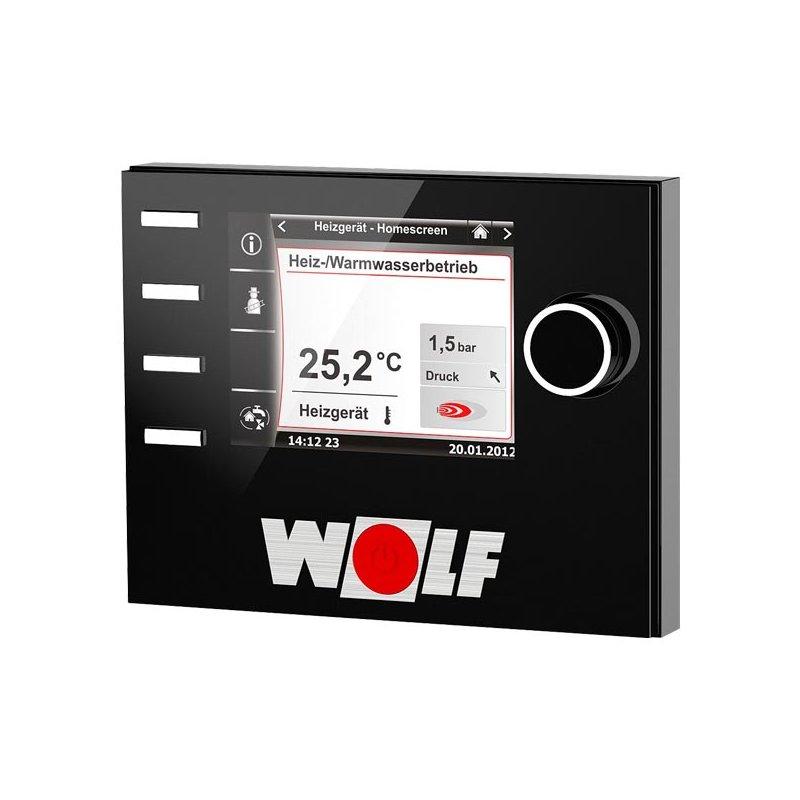 wolf bedienmodul bm 2 inkl au enf hler f r regelungssystem wrs haustechnik online. Black Bedroom Furniture Sets. Home Design Ideas