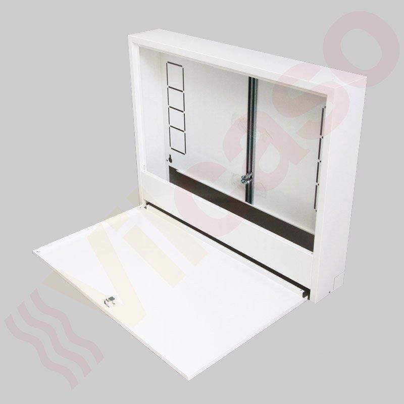 Fußbodenheizung Verteilerschrank Aufputz T: 110 mm, Typ 700, 6-8 ...
